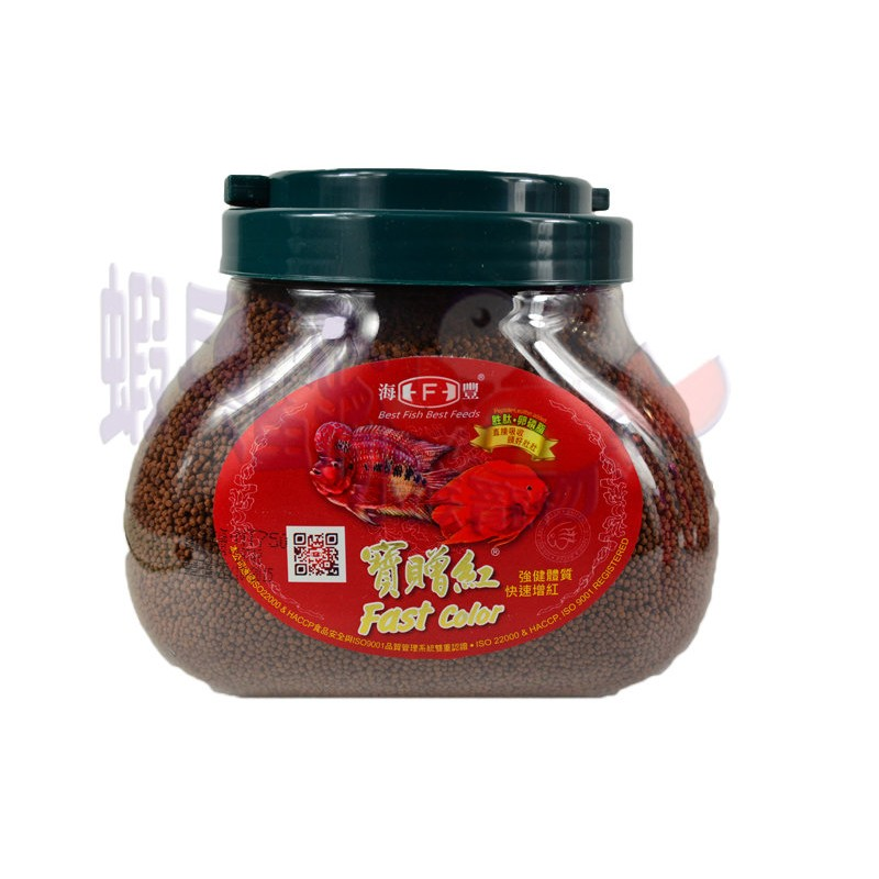 蝦兵蟹將~ Alife 海豐~寶贈紅血鸚鵡上浮性觀賞魚增艷增豔飼料1kg 1000g 小顆