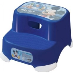 ♪♪妮虹果のlife ♪♪  迪士尼兒童 兩段階梯腳踏台階梯椅米奇藍429 314427