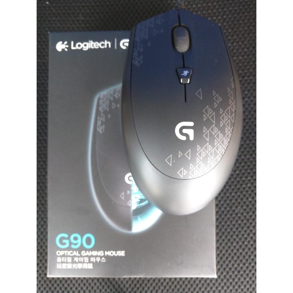 羅技G90 光學電競滑鼠