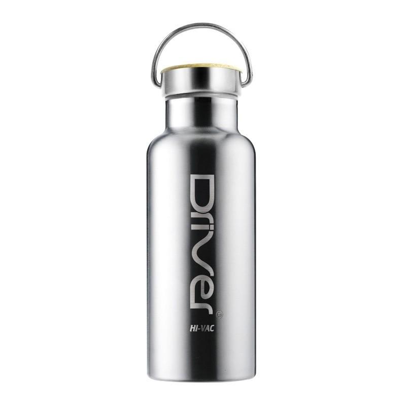 Driver 真空 水瓶600ml 長效保溫瓶保冰保溫杯304 不銹鋼好清洗無異味