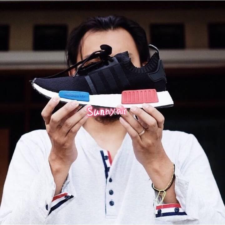 阿迪達斯NMD 爆米花跑鞋adidas Originals NMD Runner PK 黑