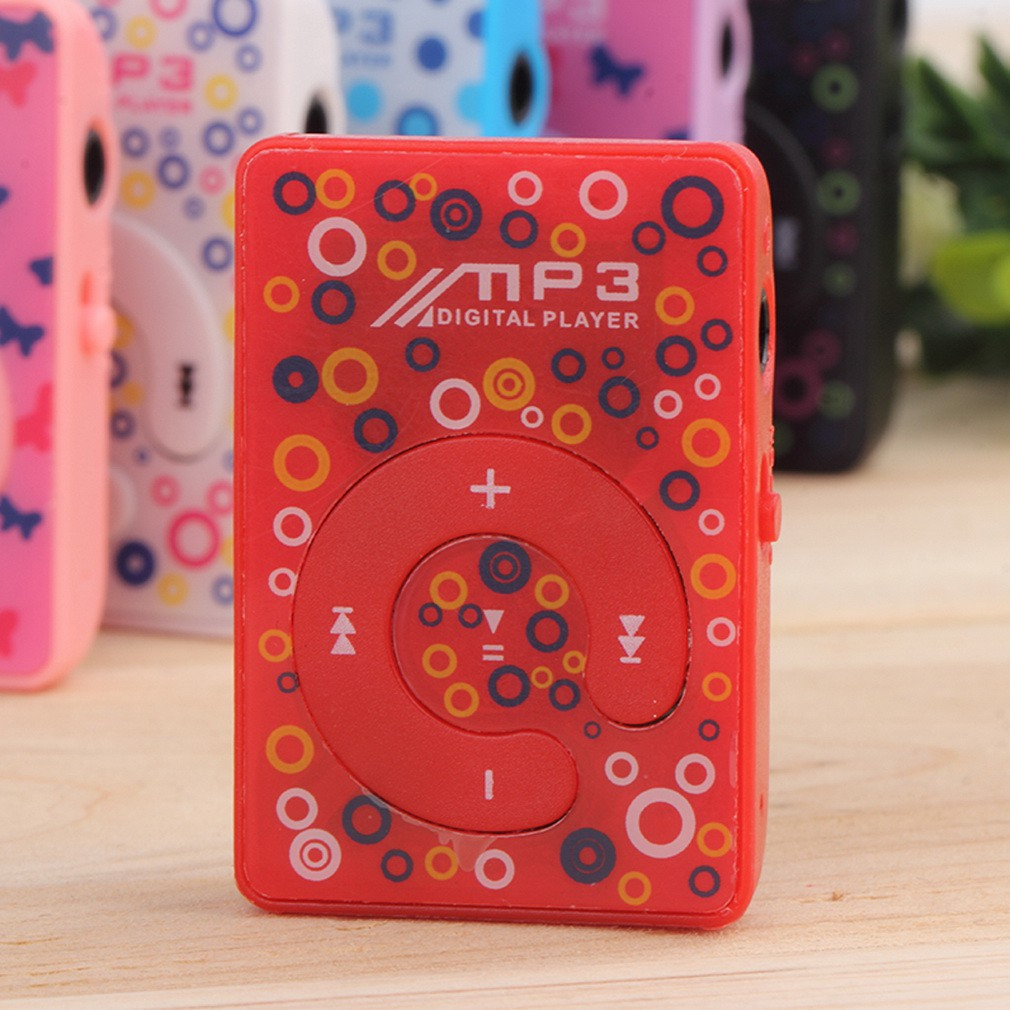 迷你USB MP3 音樂媒體播放器帶TF 卡插槽1 8G