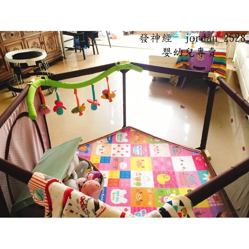 推不倒兒童嬰兒遊戲圍欄爬行圍欄寶寶學步圍欄幼兒安全防護欄柵欄遊戲床球池嬰兒床
