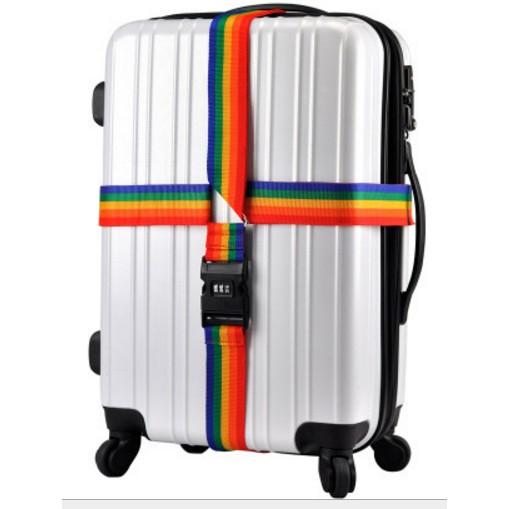 外出旅行居家 十字行李箱旅行箱托運密碼鎖行李綁帶