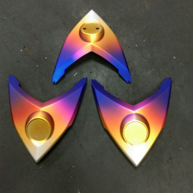 JZ motor Jets 烤漆燒鈦色logo 小盾盾牌sym