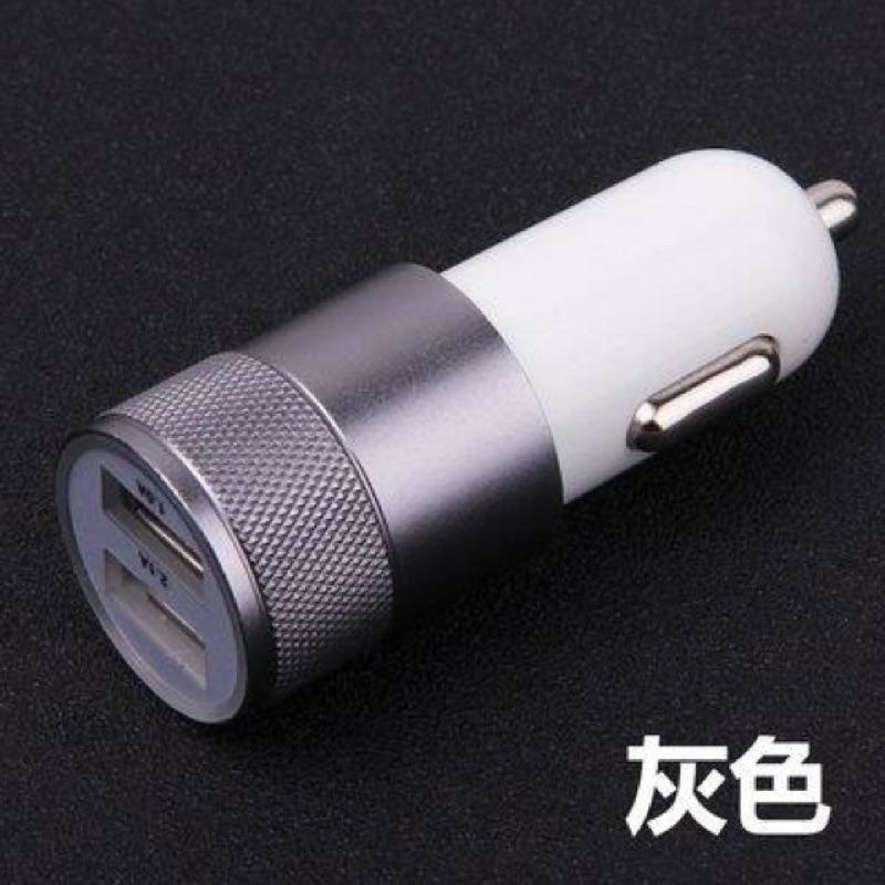 鋁合金雙孔車載充 雙孔手機車充頭點菸器充 3 1A 插頭USB 輸出金屬 半價