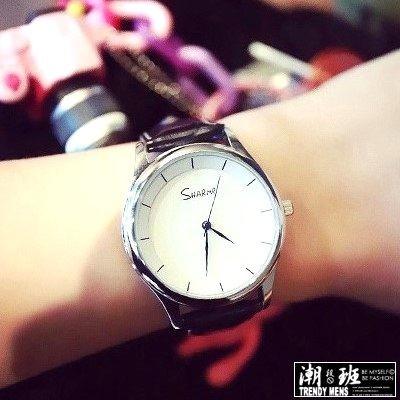 韓國SHARME 簡約手錶男錶女錶對錶~SB000278 ~