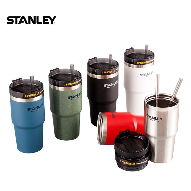 美國Stanley史丹利保溫杯保溫瓶吸管杯不鏽鋼保溫杯 喝水杯