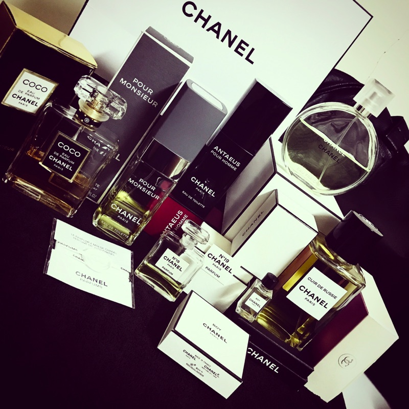 Chanel 香奈兒香水分裝俄羅斯皮革英雄安格斯N19 coco 綠色氣息黑色coco 紳