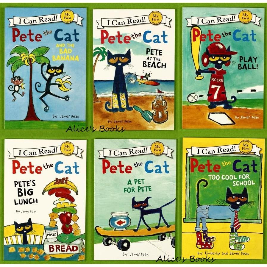 ~Alice  ~I Can Read Pete the Cat 橋樑書/James De