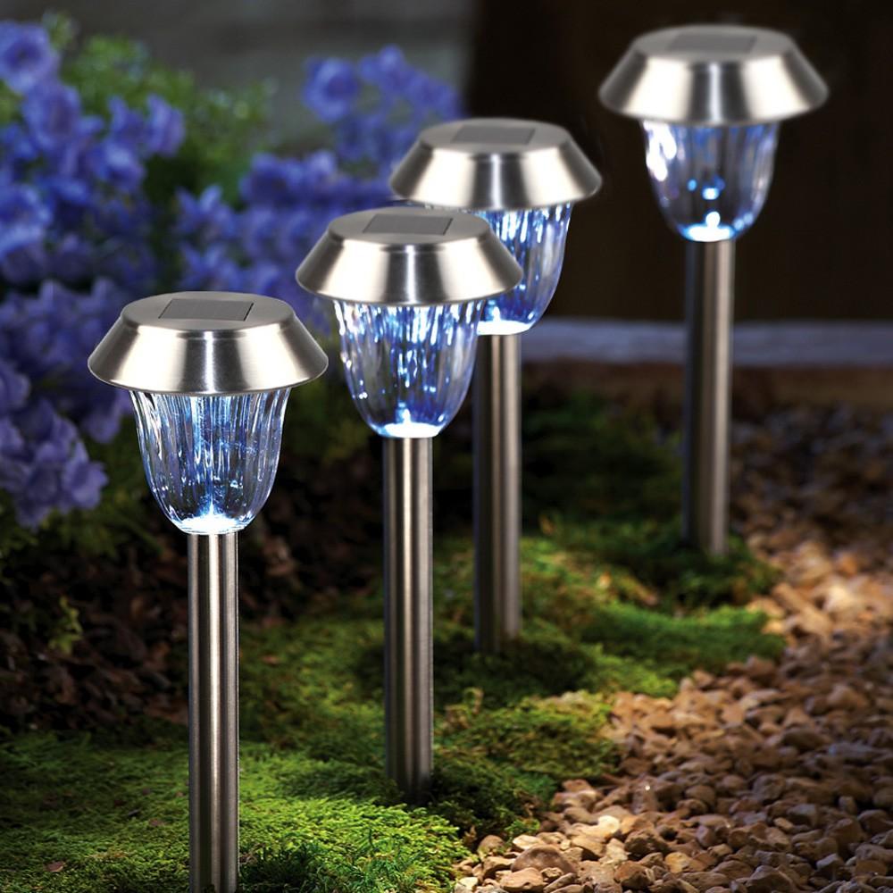 太陽能供電燈安全室外無線地面景觀燈