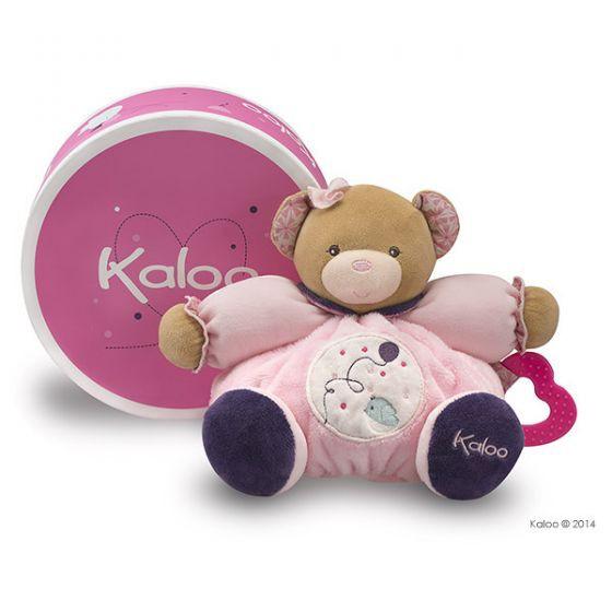 【 法國 Kaloo 】 Petite Rose 熊熊安撫玩偶