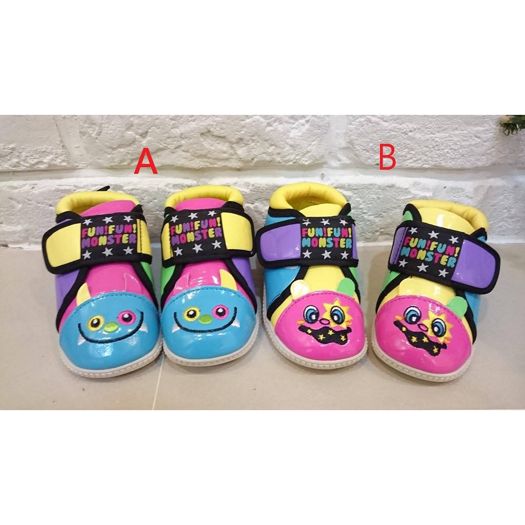 男童女童嬰兒學步鞋走路鞋啾啾鞋叫叫鞋可愛怪獸新年過年新鞋似WHY AND 1 2