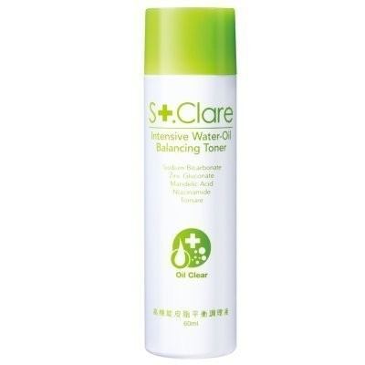 St Clare 聖克萊爾高機能皮脂平衡調理液60ml 裸瓶