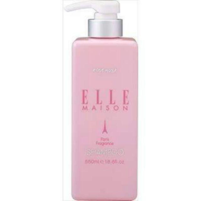 ELLE 法國巴黎玫瑰麝香香水合作款n n 製ELLE 無矽靈玫瑰麝香洗髮精n n 產地