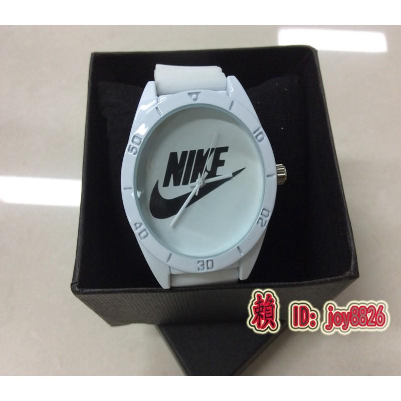 nike 手錶 潮流果凍學生男女 手錶愛迪達手錶LED 手錶圓形 情侶硅膠