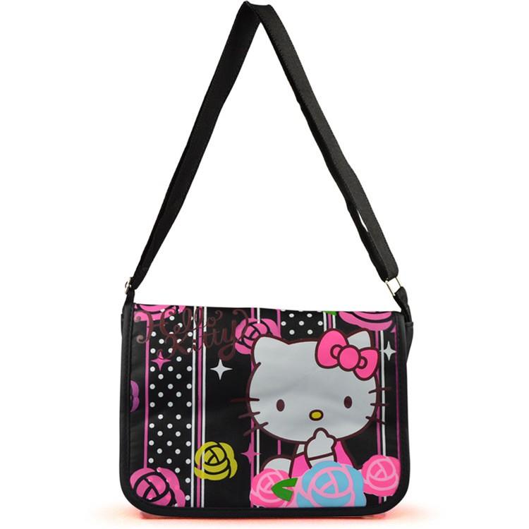 兒童書包 卡通HELLO KITTY 凱蒂貓肩背包側背包斜背兒童上學旅遊背包