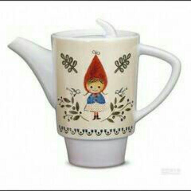 款咖啡Nice Day 加藤真治小紅帽雙杯組系列n 小紅帽系列茶壺