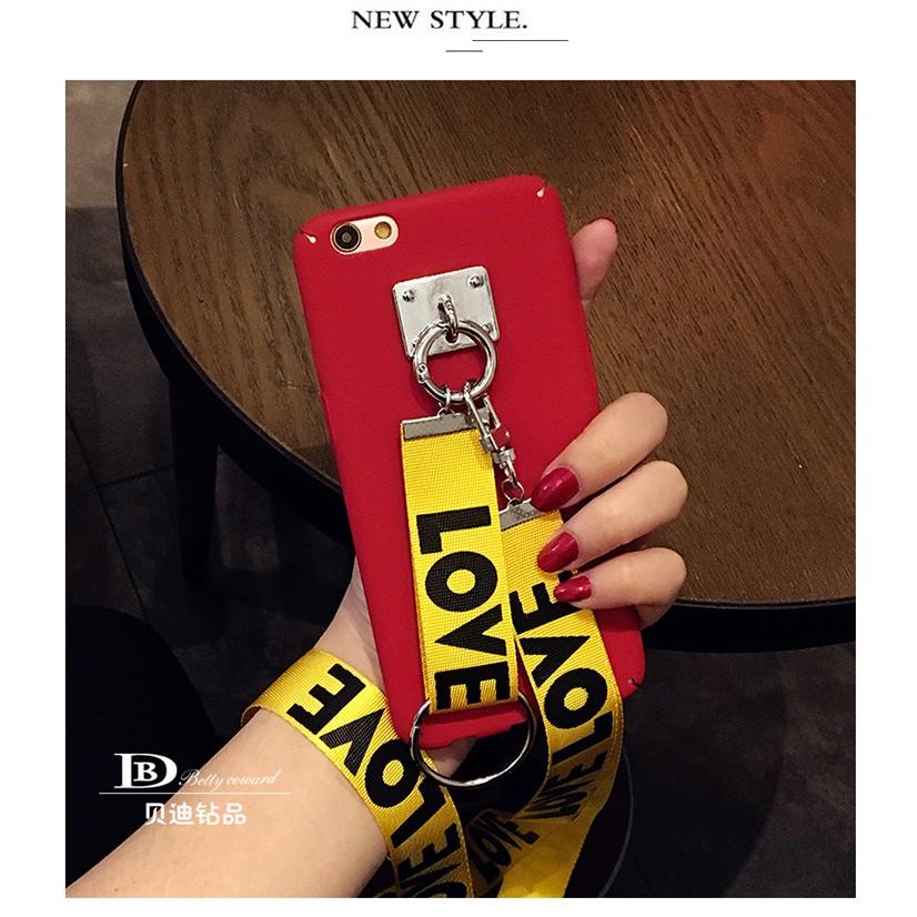 潮流掛繩吊繩手機殼小米手機紅米Note4x note4 note3 小米5 磨砂殼超薄硬殼