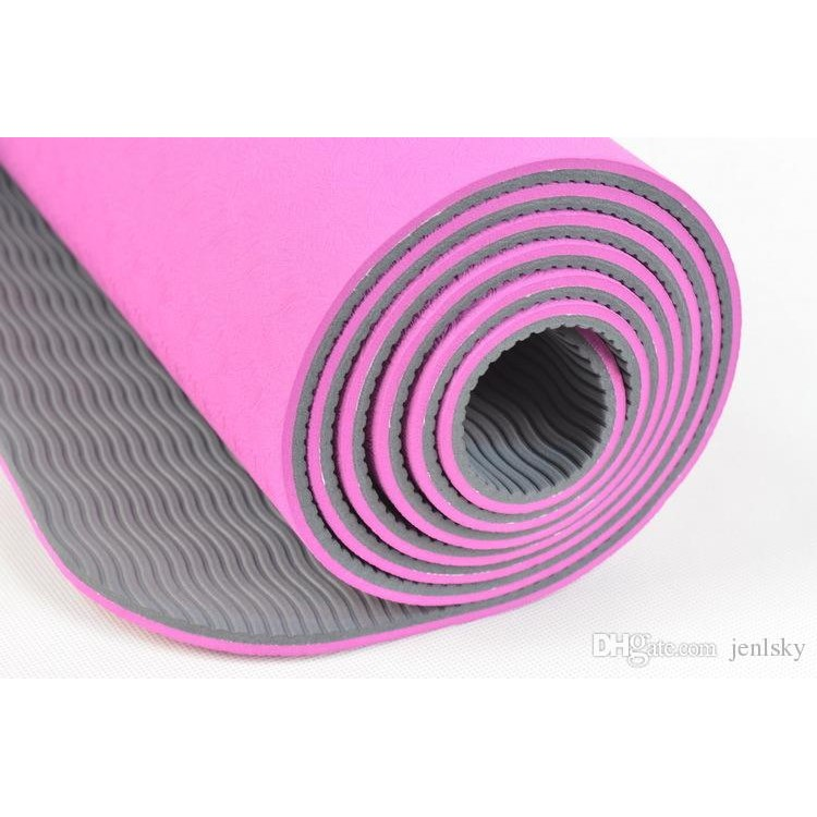 明珍TPE 雙層瑜珈墊 墊180x60x0 6cm 防滑柔軟價110 元