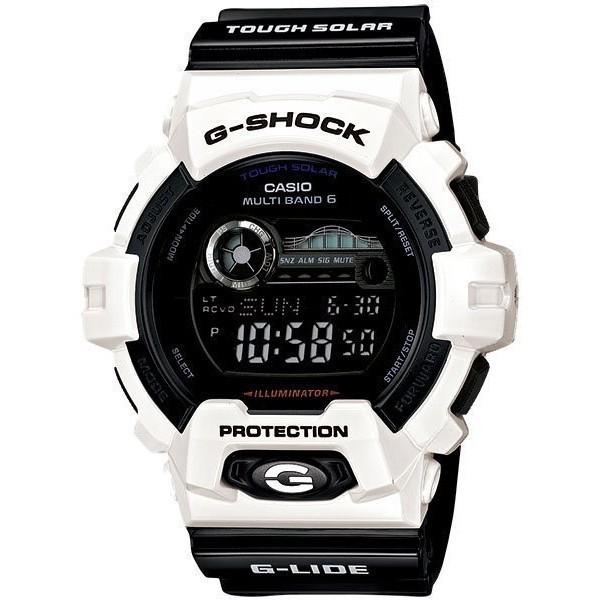 CASIO G SHOCK 卡西歐GWX 8900B 7 黑白太極電波太陽能潮汐衝浪錶