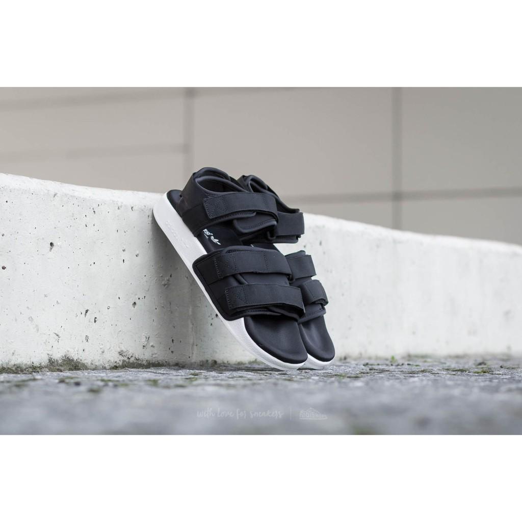 ✈️ 款✈️ADIDAS ADILETTE SANDAL W 黑白女鞋涼鞋