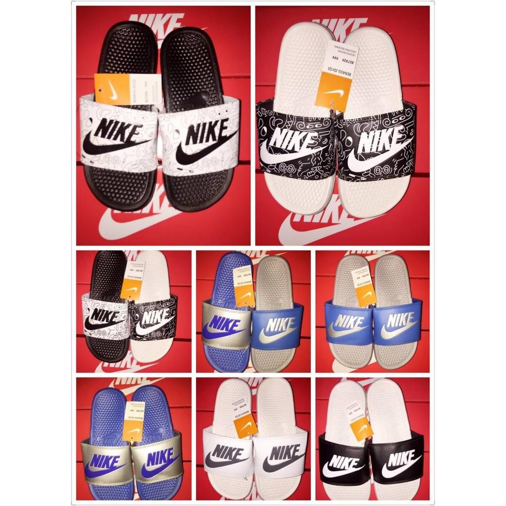 兩樣起免 ,350 一雙Nike Benassi Swoosh 陰陽拖鞋尺寸37_41 碼