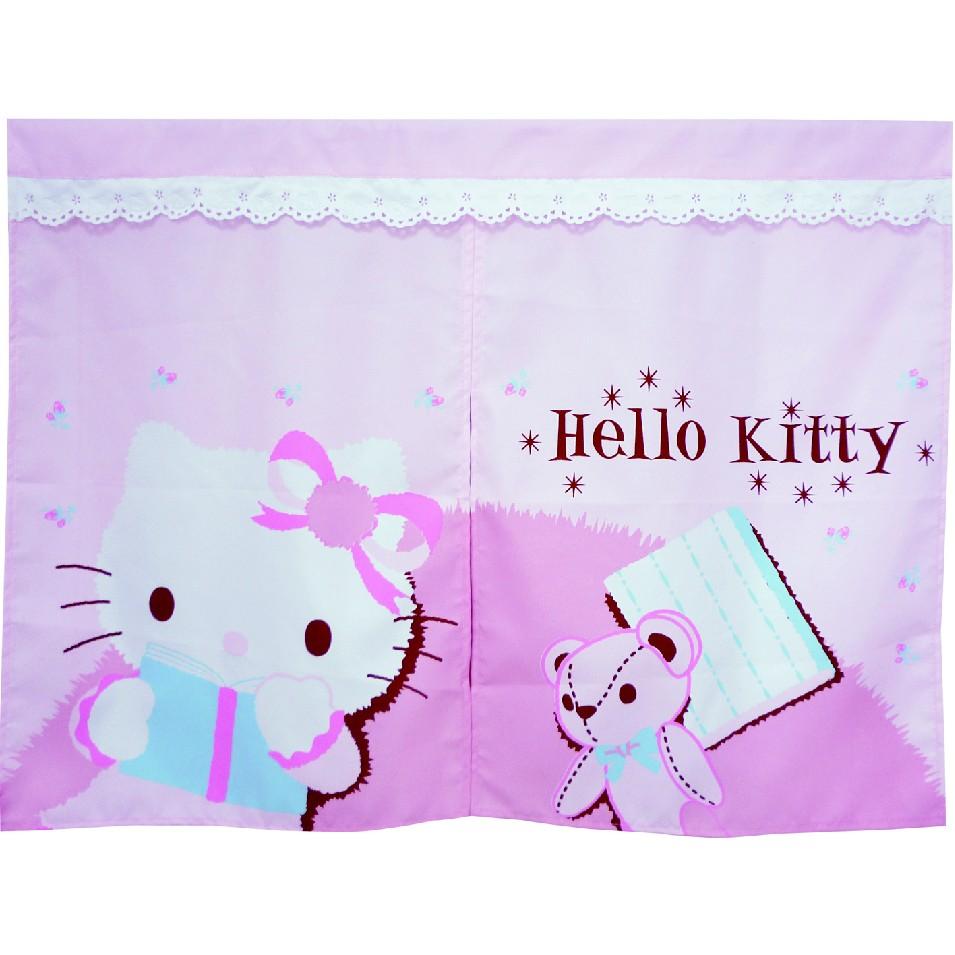 Hello Kitty 抱熊短門簾kt 0409