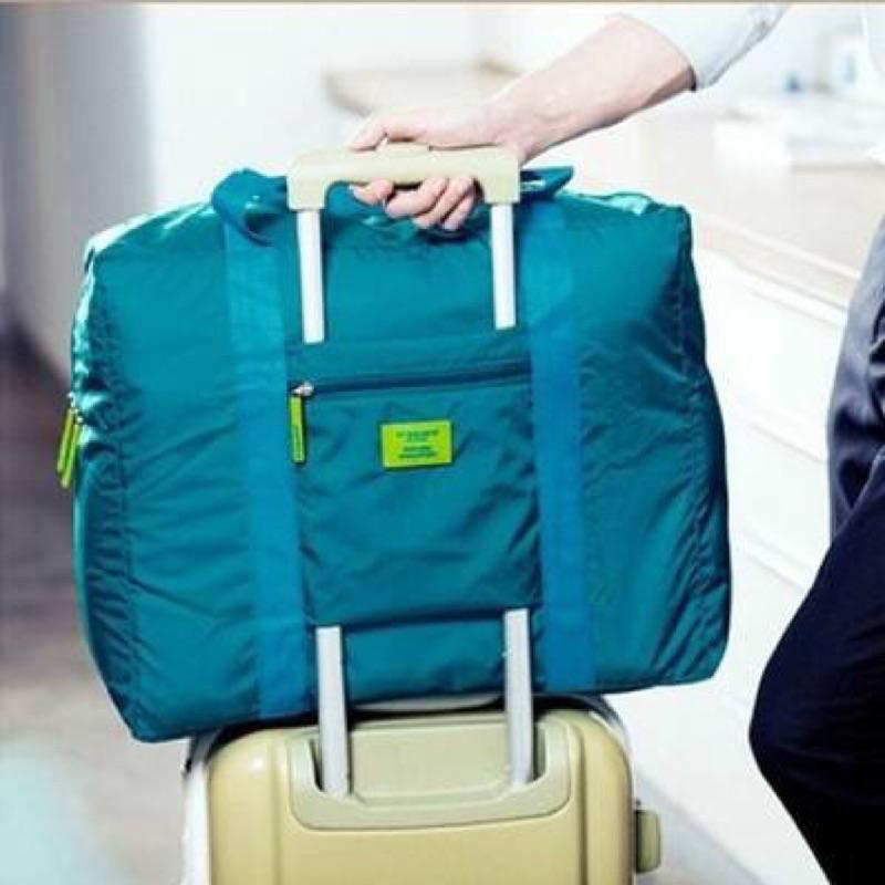 到~出遊真便利~超大容量防水透氣耐磨彩色拉桿收納提袋旅行袋防水袋置物袋外出袋