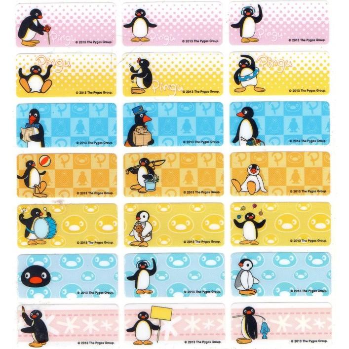 TB 73 企鵝Pingu 系列1 3x3 0cm 120 張