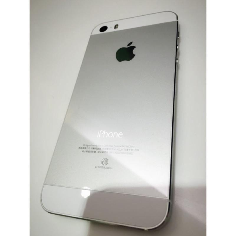iPhone5s 16G 銀色女用機2014 年版