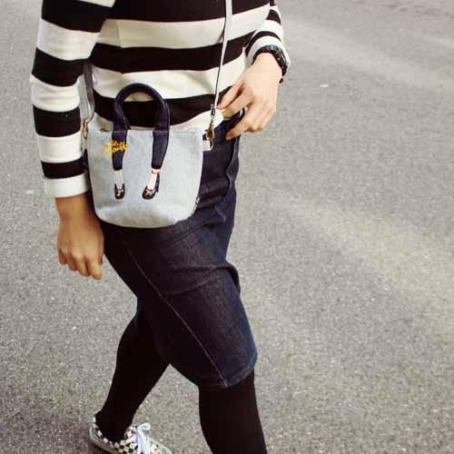 美腳包mis Zapatos 美腿包手機包側背小包 價正品