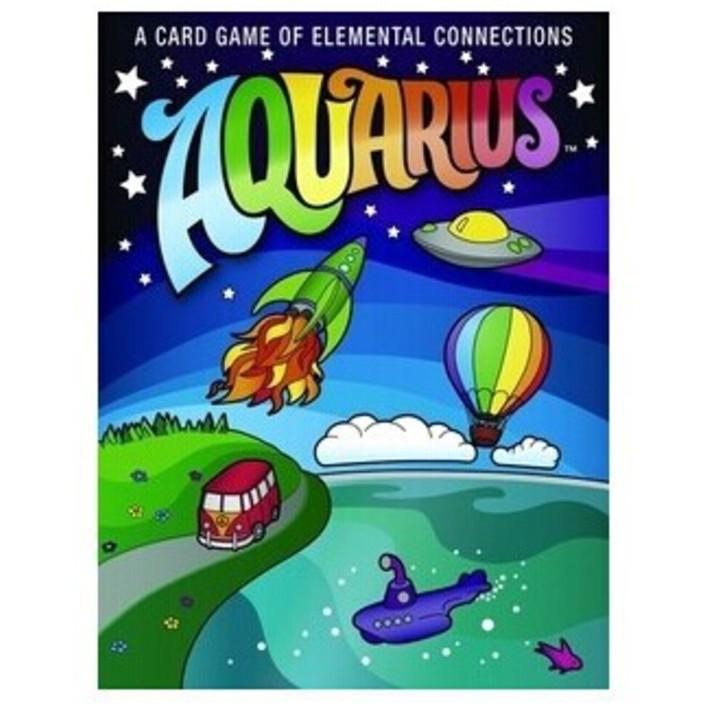 ~ ~水瓶座AQUARIUS 花花世界拼圖競賽美國遊戲雜誌 女生桌遊桌上遊戲派對聚會趣味遊