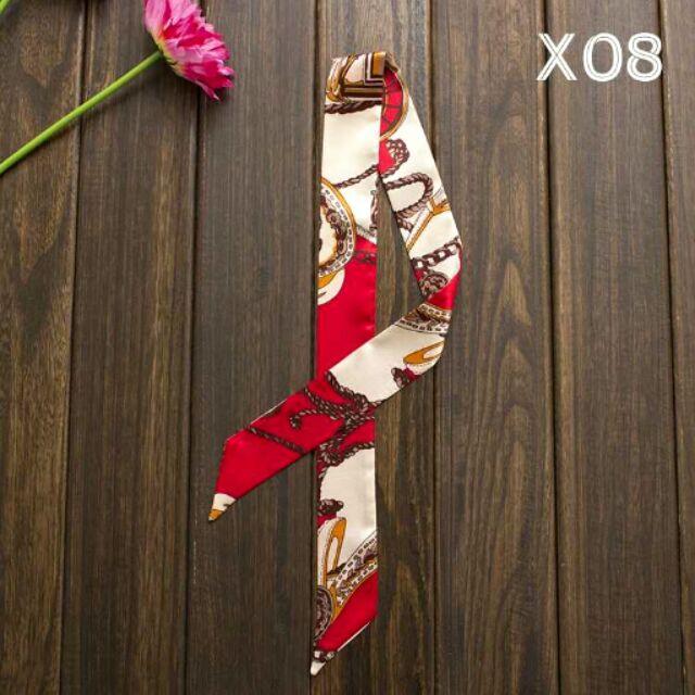 X08 ~X16 韓國高 綁帶手提帶包包絲巾領巾