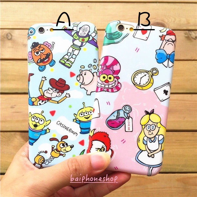 玩具總動員愛麗絲小美人魚imd 軟殼iphone 手機殼保護殼