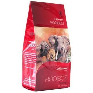 非洲晨曦南非原味國寶茶AFRICAN DAWN Rooibos Tea 無咖啡因新包裝每袋