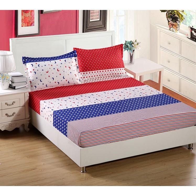 ~單人~床罩床單床包被套防滑床墊套枕頭套三件組四件組寢具用品星月傳奇