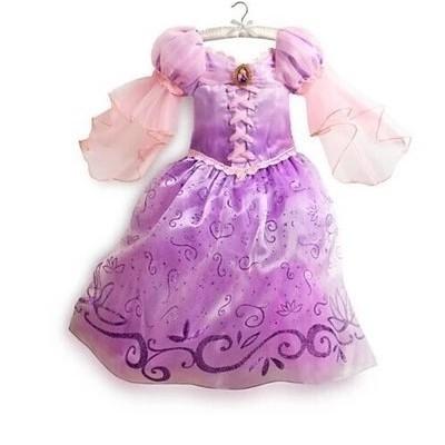 長髮公主樂佩公主禮服紫色禮服洋裝萬聖節表演服聖誕節蘇菲亞賣場有多款冰雪奇緣禮服