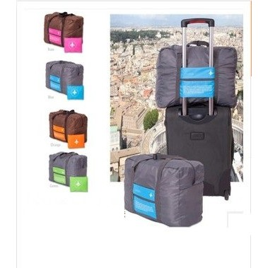 B3302 韓國手提旅行收納包可折疊防水旅行袋短途單肩行李袋行李包超大容量可摺疊旅行收納包