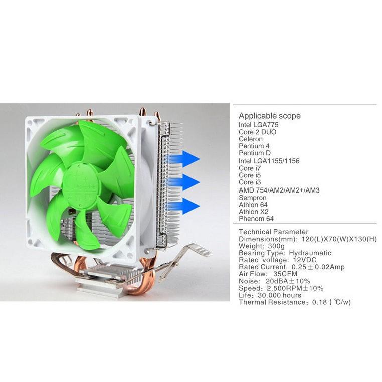 CPU 散熱風扇支援775 1156 1155 1150 AM3 FM2 CPU 散熱器非