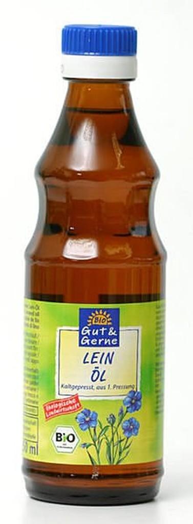 橡樹街3 號智慧有機體德國Gut Gerne 有機冷壓初榨亞麻仁油250ml 瓶~A730