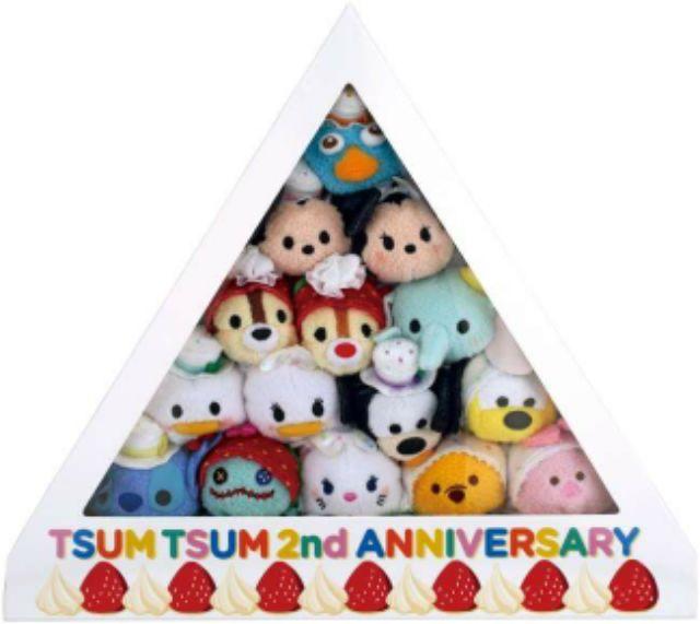 廠貨 可 生日兩周年兩週年草莓奶油蛋糕多款節日迪士尼disney tsumtsum 復活節