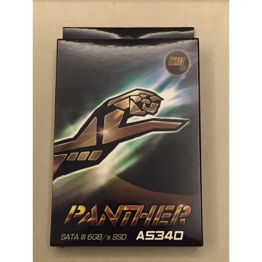 宇瞻Apacer AS340 PANTHER 黑豹120G 120GB 固態硬碟SSD 高