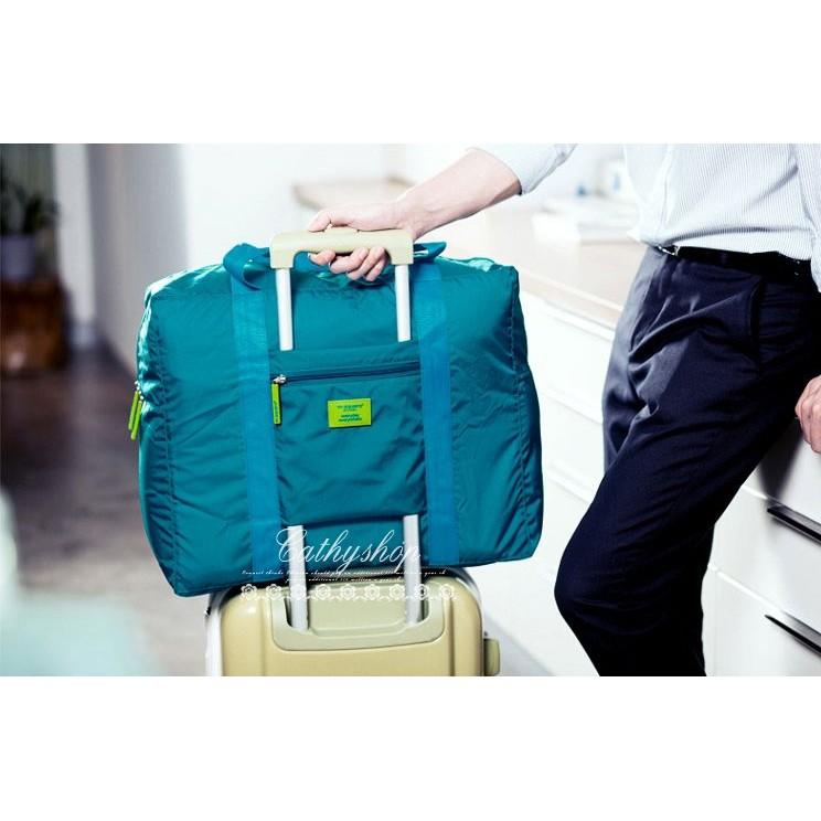 防水折疊式旅行收納包旅遊收納袋衣物整理袋行李箱收納手提包W113