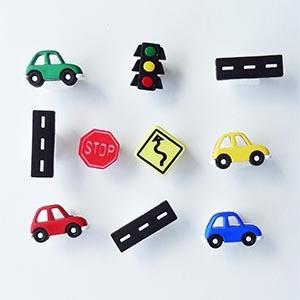 一口麥香鷄🐱 美國造型釦-小汽車-On the Road Again 扣子 鈕扣 手藝 手作 diy 拼布