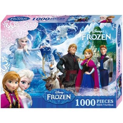 冰雪奇緣1000 片盒裝拼圖