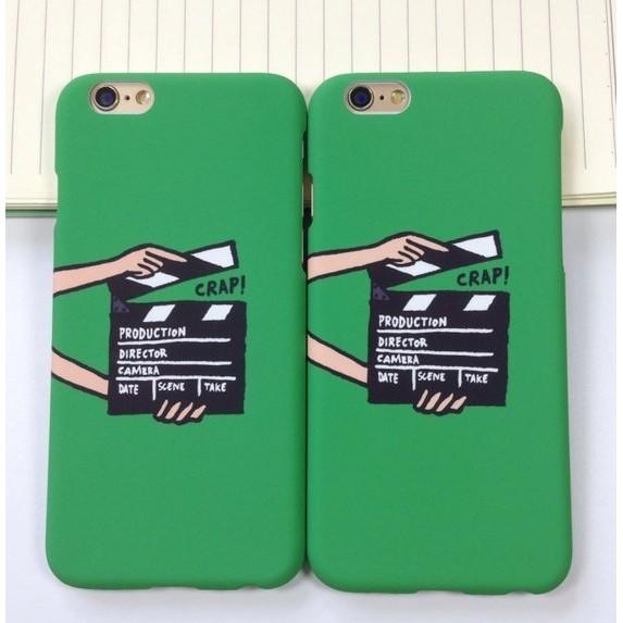 Grays Case 蘋果apple iphone 5 5S SE 手機殼磨砂殼綠色卡板A