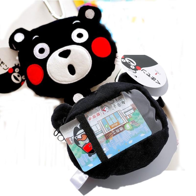 薰小舖 kumamon 熊本熊零錢包包吊飾伸縮車票夾證件夾工作證識別證卡片夾信用卡夾悠遊卡