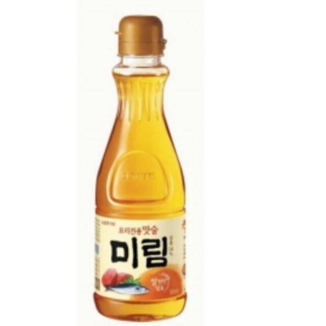 韓國LOTTE 味霖樂天味醂料理酒n500ml 料理 提鮮去腥海鮮肉類都