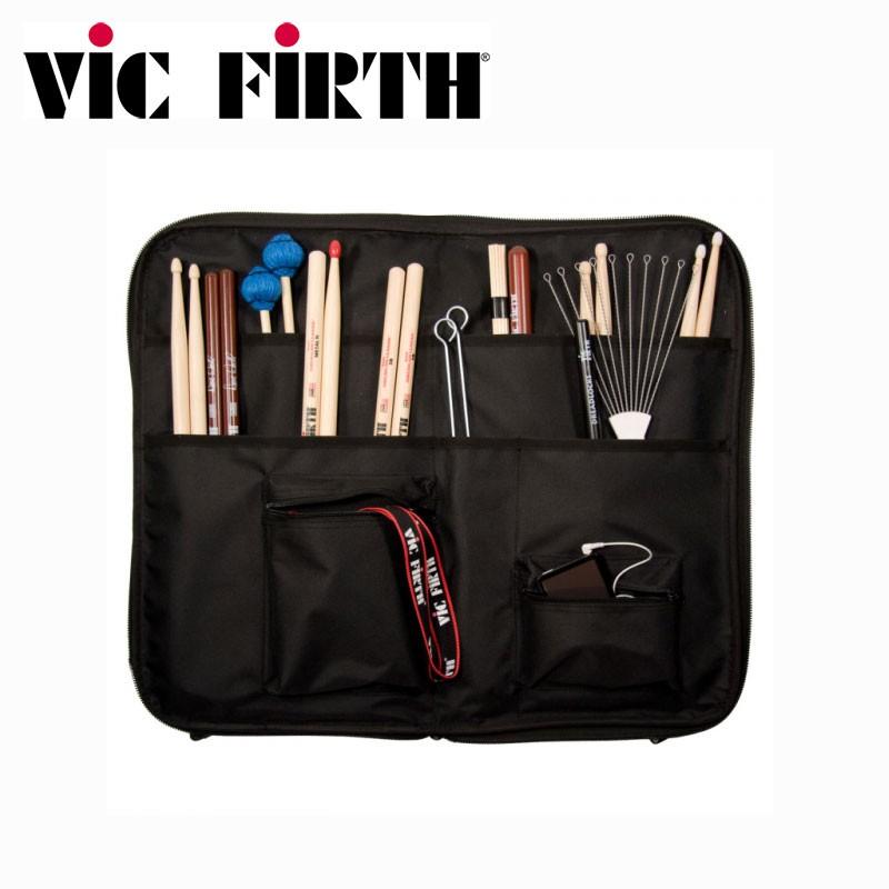 小叮噹的店鼓棒袋皮革防水美國Vic Firth SBAG2 可雙背小叮噹的店
